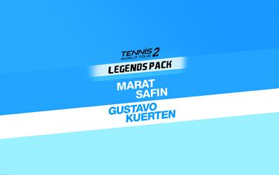 Tennis World Tour 2 - Legends Pack  cover